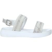 Sapatos Rapariga Sandálias Miss Sixty S20-SMS774 Prata