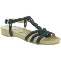 Sapatos Mulher Sandálias Mally 3828GL Preto