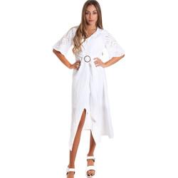Textil Mulher Vestidos compridos Fracomina FR20SM561 Branco