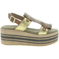 Sapatos Mulher Sandálias Pregunta IBH15804 Castanho