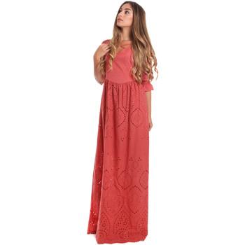 Textil Mulher Vestidos compridos Fracomina FR20SM506 Vermelho