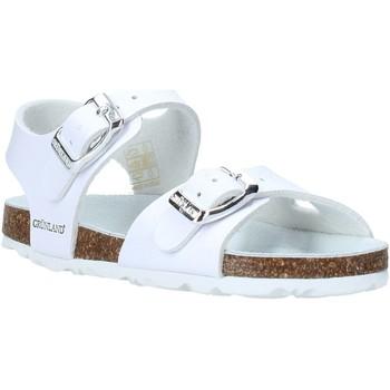 Sapatos Criança Sandálias Grunland SB0027 Branco