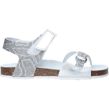 Sapatos Rapariga Sandálias Grunland SB1501 Prata