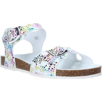 Sapatos Rapariga Sandálias Grunland SB1502 Branco