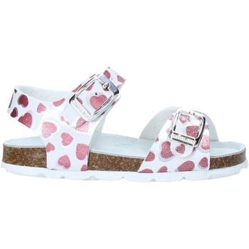 Sapatos Rapariga Sandálias Grunland SB1535 Branco