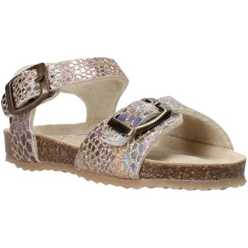 Sapatos Rapariga Sandálias Grunland SB1553 Bege