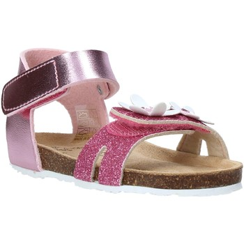 Sapatos Rapariga Sandálias Grunland SB1545 Rosa