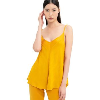 Textil Mulher Tops / Blusas Fracomina FR20SM551 Amarelo