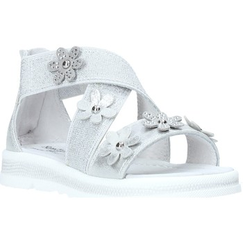 Sapatos Rapariga Sandálias Nero Giardini E031604F Prata