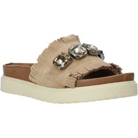 Sapatos Mulher Chinelos Bueno Shoes CM2217 Bege