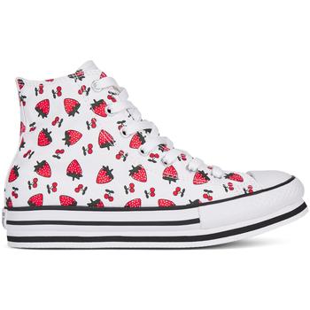 Sapatos Rapariga Sapatilhas de cano-alto Converse 668016C Branco