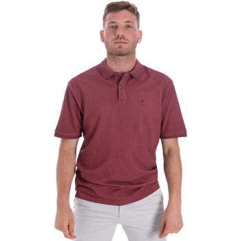 Textil Homem Polos mangas curta Les Copains 9U9016 Vermelho