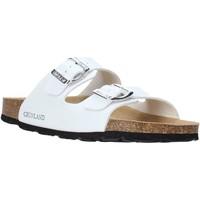 Sapatos Mulher Chinelos Grunland CB1035 Branco