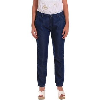 Textil Mulher Calças de ganga Gaudi 811BD26028 Azul