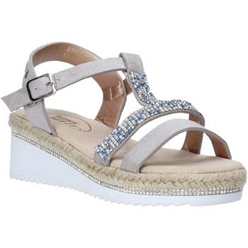 Sapatos Rapariga Sandálias Miss Sixty S20-SMS785 Prata