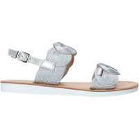 Sapatos Rapariga Sandálias Miss Sixty S20-SMS786 Prata
