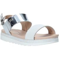 Sapatos Rapariga Sandálias Miss Sixty S20-SMS797 Prata