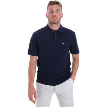 Textil Homem Polos mangas curta Les Copains 9U9023 Azul
