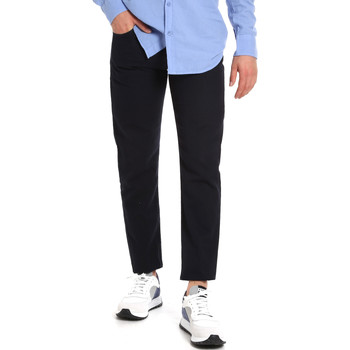 Textil Homem Chinos Les Copains 9U3021 Azul