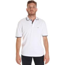 Textil Homem Polos mangas curta Les Copains 9U9020 Branco