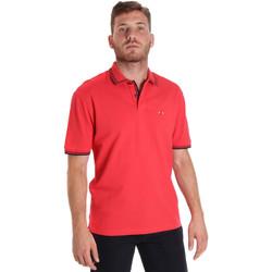 Textil Homem Polos mangas curta Les Copains 9U9020 Vermelho