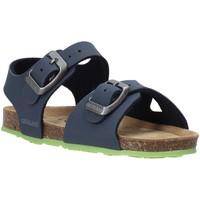Sapatos Criança Sandálias Grunland SB0413 Azul
