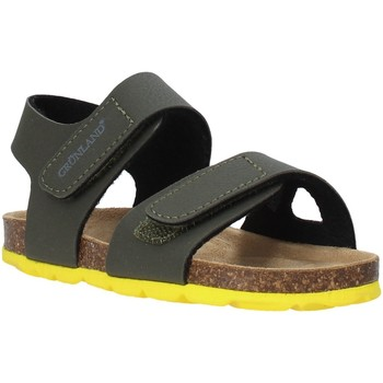 Sapatos Criança Sandálias Grunland SB0094 Verde