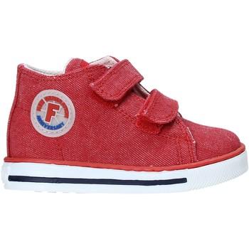 Sapatos Criança Sapatilhas de cano-alto Falcotto 2014604 04 Vermelho