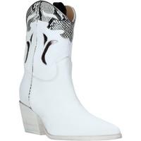 Sapatos Mulher Botins Mally 6918P Branco