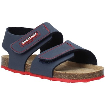 Sapatos Criança Sandálias Grunland SB0802 Azul