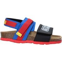 Sapatos Criança Sandálias Grunland SB1517 Azul