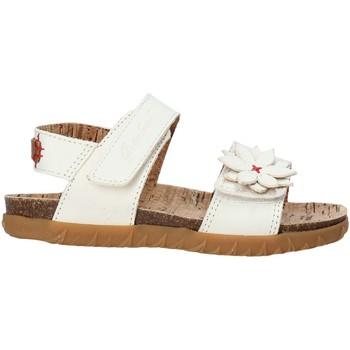 Sapatos Rapariga Sandálias Grunland SB1564 Branco