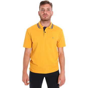 Textil Homem Polos mangas curta Les Copains 9U9021 Amarelo