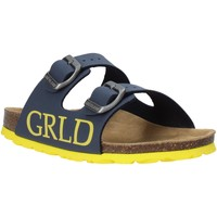 Sapatos Criança Chinelos Grunland CB2420 Azul