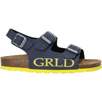 Sapatos Criança Sandálias Grunland SB1516 Azul