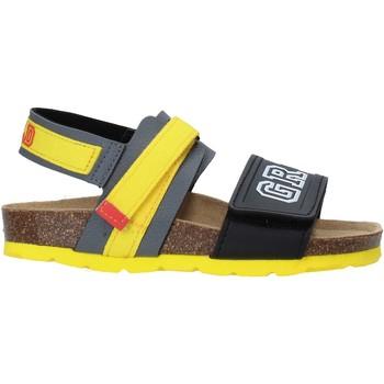 Sapatos Criança Sandálias Grunland SB1517 Cinzento