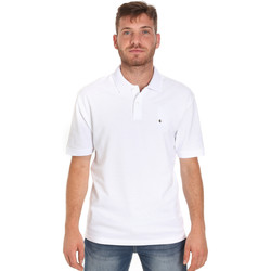 Textil Homem Polos mangas curta Les Copains 9U9015 Branco