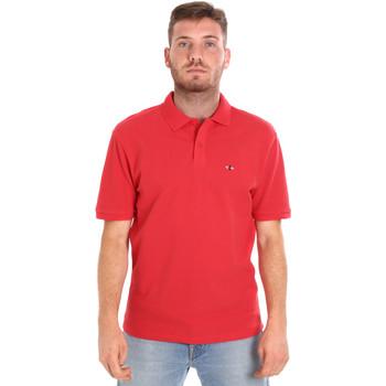 Textil Homem Polos mangas curta Les Copains 9U9015 Vermelho