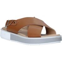 Sapatos Mulher Sandálias Mally 6803 Castanho