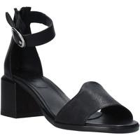 Sapatos Mulher Sandálias Mally 6866G Preto