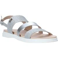 Sapatos Rapariga Sandálias Miss Sixty S20-SMS766 Prata