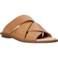Sapatos Mulher Chinelos Clarks 26139436 Castanho
