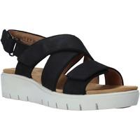 Sapatos Mulher Sandálias Clarks 26140238 Preto