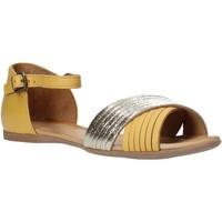 Sapatos Mulher Sandálias Bueno Shoes N0734 Amarelo