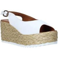 Sapatos Mulher Sandálias Bueno Shoes N3603 Branco