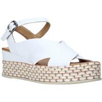 Sapatos Mulher Sandálias Bueno Shoes Q5901 Branco