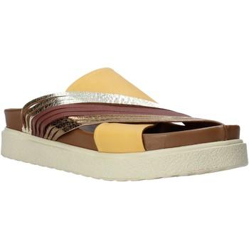 Sapatos Mulher Chinelos Bueno Shoes CM2206 Amarelo