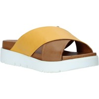 Sapatos Mulher Chinelos Bueno Shoes 9N3408 Amarelo