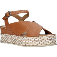 Sapatos Mulher Sandálias Bueno Shoes Q5901 Castanho