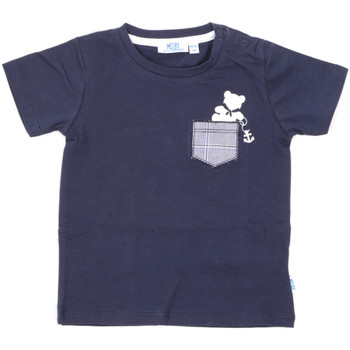 Textil Criança T-Shirt mangas curtas Melby 20E5070 Azul